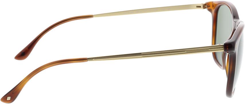 Picture of glasses model Giorgio Armani AR8128 58109A 51-21 in angle 90