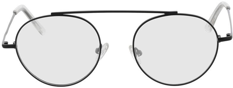 Picture of glasses model Hico-matt schwarz/transparent in angle 0