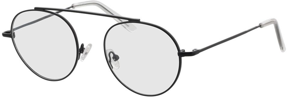 Picture of glasses model Hico-matt schwarz/transparent in angle 330