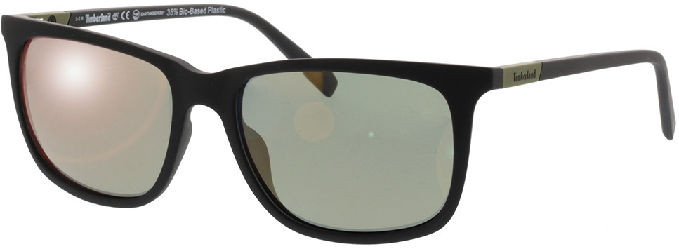 Picture of glasses model Timberland TB9164 02R 57-17 in angle 330