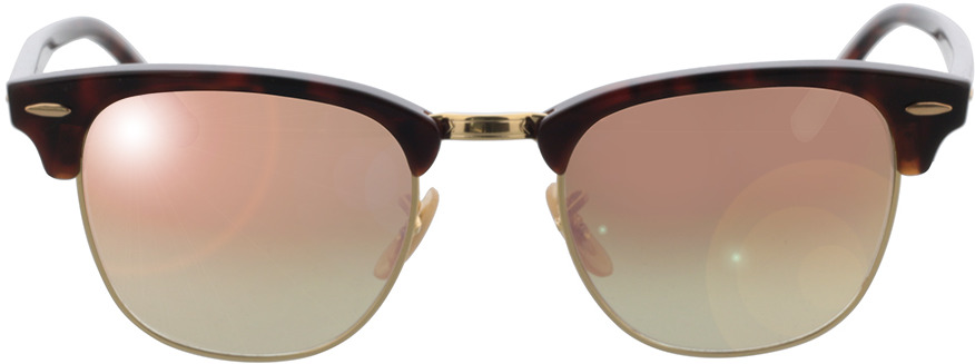 Picture of glasses model Ray-Ban Clubmaster RB3016 990/7O 49-21 in angle 0