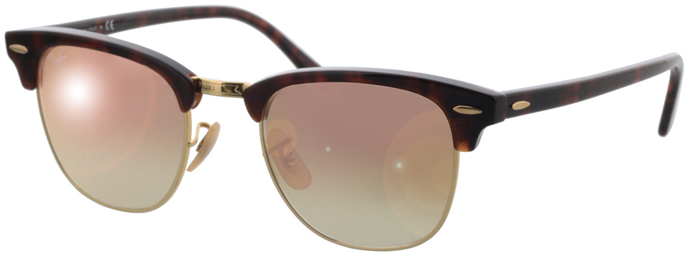 Picture of glasses model Ray-Ban Clubmaster RB3016 990/7O 49-21