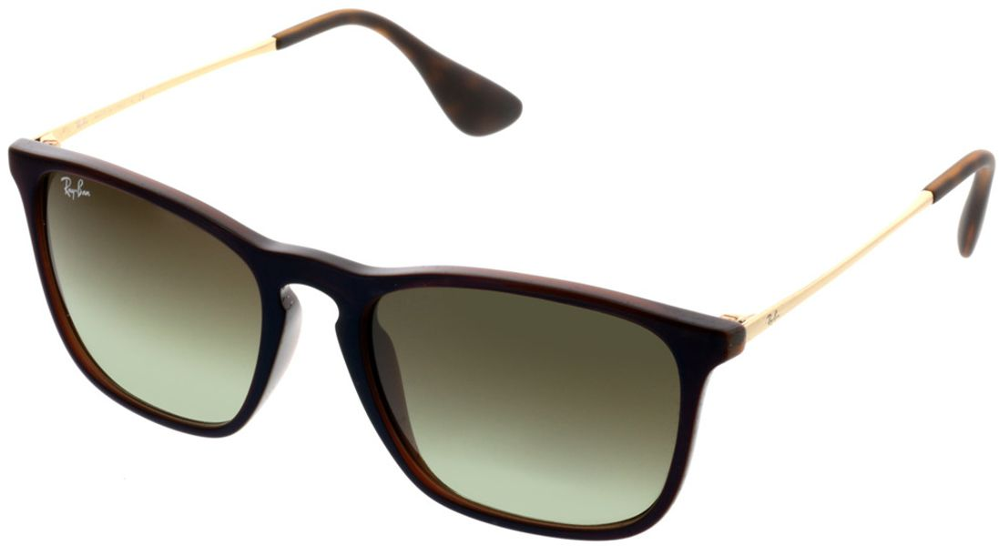 Picture of glasses model Ray-Ban Chris RB4187 6315E8 54-18 in angle 330