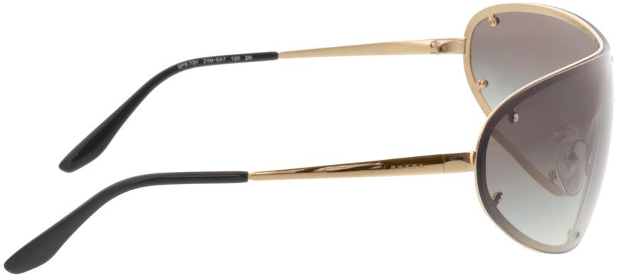 Picture of glasses model Prada PR 73VS ZVN0A7 40 170-0 in angle 90