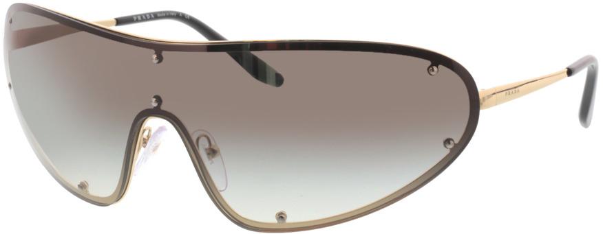 Picture of glasses model Prada PR 73VS ZVN0A7 40 170-0 in angle 330