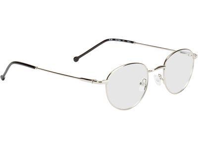 Brille Birmingham-silber/schwarz