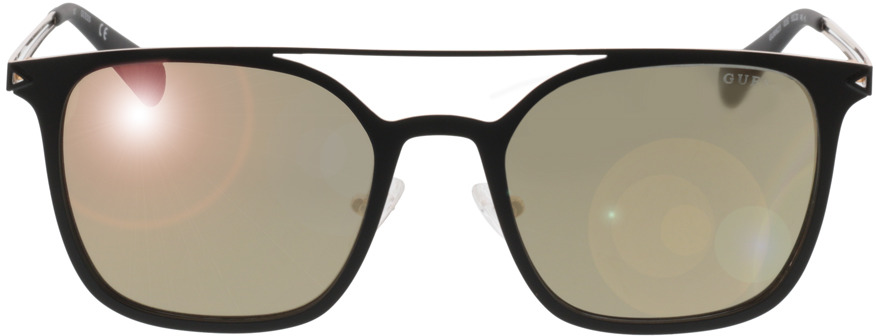 Picture of glasses model Guess GU6923 02G 53-20 in angle 0