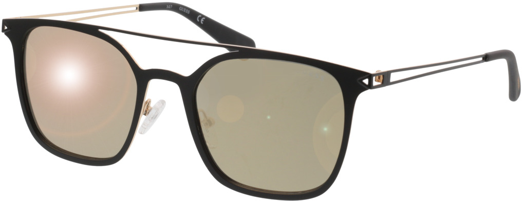 Picture of glasses model Guess GU6923 02G 53-20 in angle 330