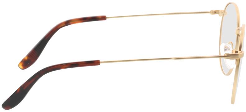 Picture of glasses model Paul-matt gold in angle 90