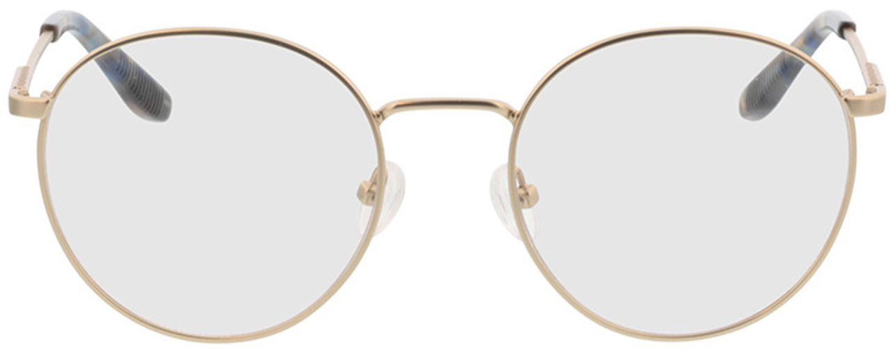 Picture of glasses model Paul-matt gold in angle 0