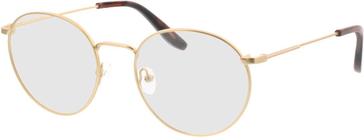 Picture of glasses model Paul-matt gold in angle 330