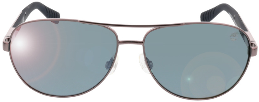 Picture of glasses model Timberland TB9058 08D brillant poudremetal 61 14 in angle 0