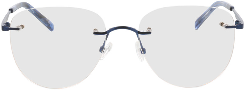Picture of glasses model Ziano-dunkelblau in angle 0
