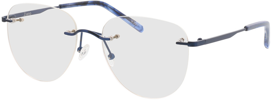 Picture of glasses model Ziano-dunkelblau in angle 330