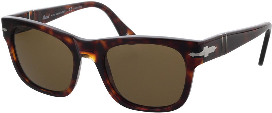 Picture of glasses model Persol PO3269S 24/57 52 in angle 330