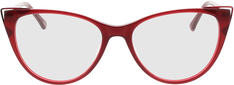 Picture of glasses model Neapoli-rot in angle 0