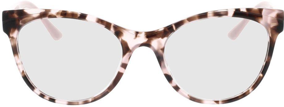 Picture of glasses model Prada PR 05WV ROJ1O1 53-19 in angle 0