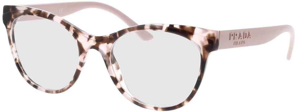 Picture of glasses model Prada PR 05WV ROJ1O1 53-19 in angle 330