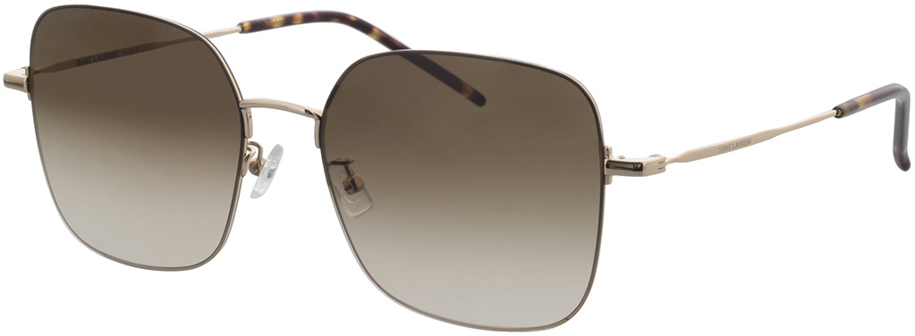 Picture of glasses model Saint Laurent SL 410 WIRE-001 59-18 in angle 330