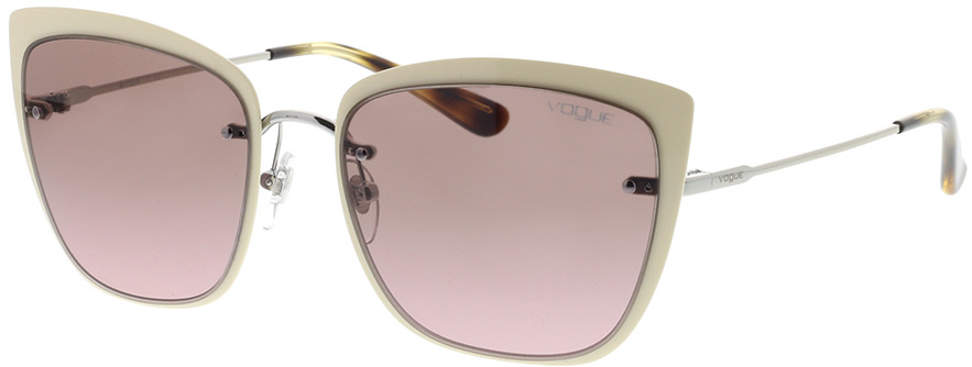 Picture of glasses model Vogue VO4158S 323/14 55-17 in angle 330