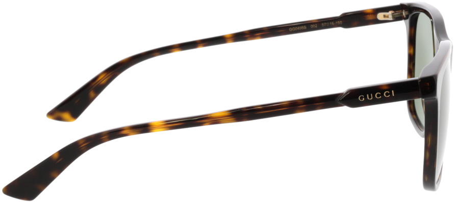 Picture of glasses model Gucci GG0495S-002 57-16 in angle 90