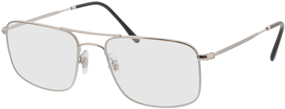 Picture of glasses model Ray-Ban RX6434 2501 55-18 in angle 330