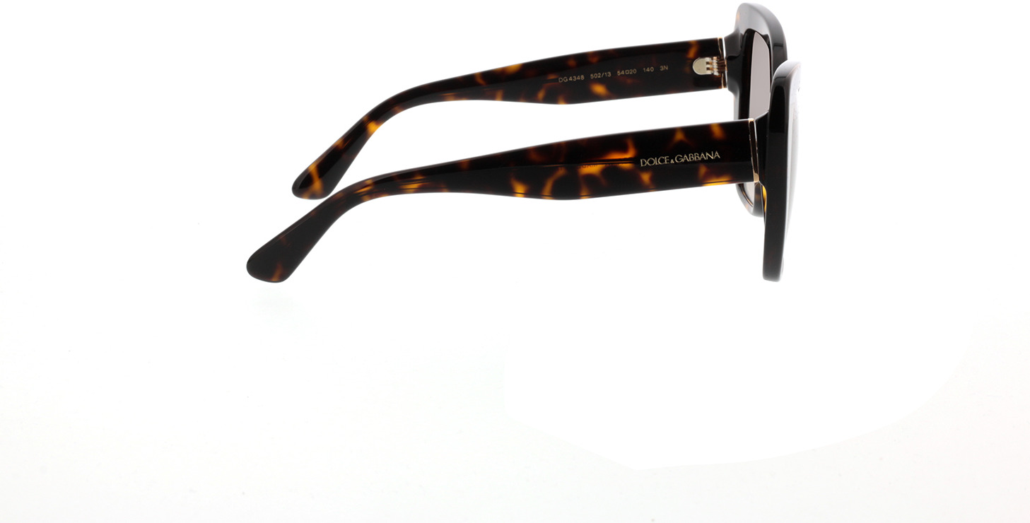 Picture of glasses model Dolce&Gabbana DG4348 502/13 54-20 in angle 90