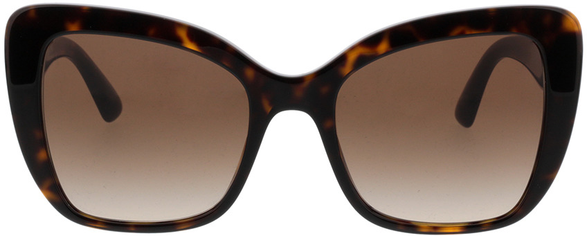 Picture of glasses model Dolce&Gabbana DG4348 502/13 54-20 in angle 0