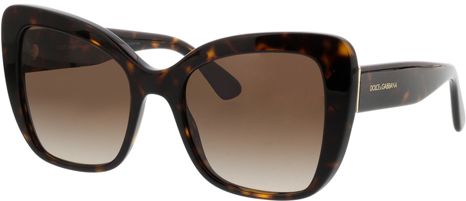 Picture of glasses model Dolce&Gabbana DG4348 502/13 54-20 in angle 330