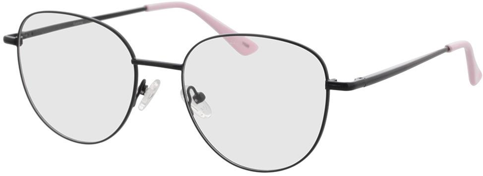 Picture of glasses model Kadina-schwarz in angle 330