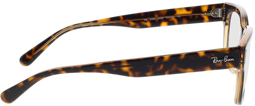 Picture of glasses model Ray-Ban RX5388 5989 53-20 in angle 90