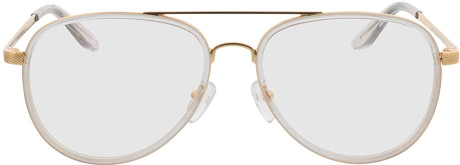 Picture of glasses model Long Beach-transparent/gold in angle 0