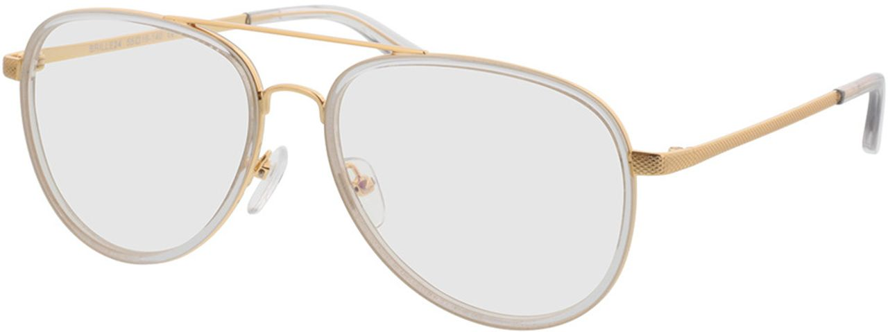 Picture of glasses model Long Beach-transparent/gold in angle 330