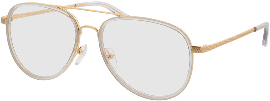 Picture of glasses model Long Beach transparente/dourado in angle 330