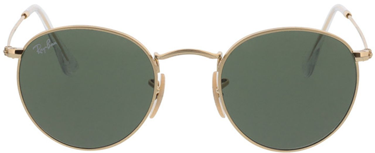 Picture of glasses model Ray-Ban Round Metal RB3447 001 47-21 in angle 0