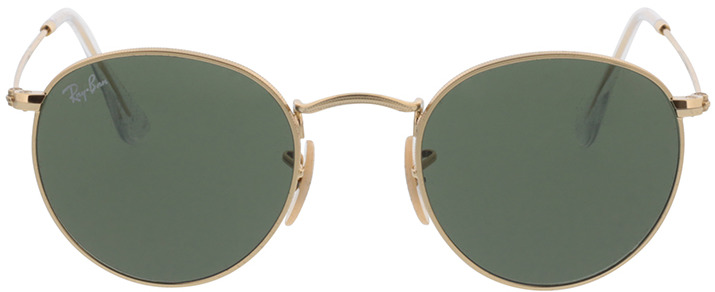 Picture of glasses model Ray-Ban Round Metal RB 3447 001 47-21 in angle 0