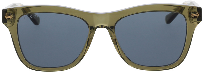 Picture of glasses model Gucci GG0910S-002 53-17 in angle 0