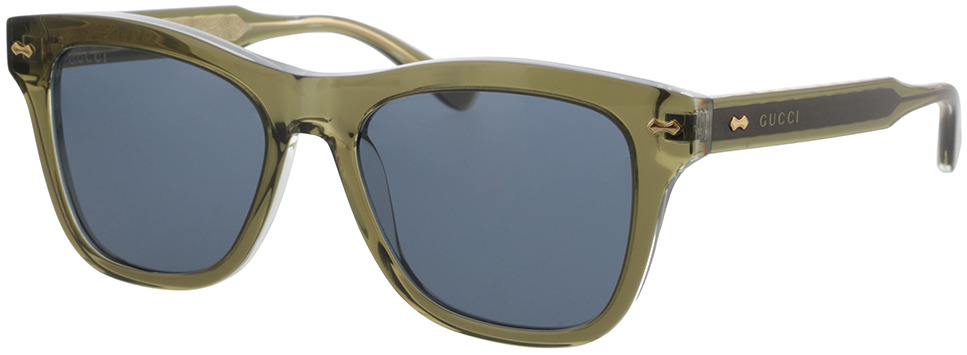Picture of glasses model Gucci GG0910S-002 53-17 in angle 330