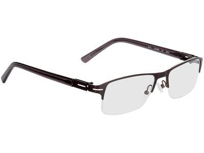 Brille Bastia-anthrazit/grau-transparent