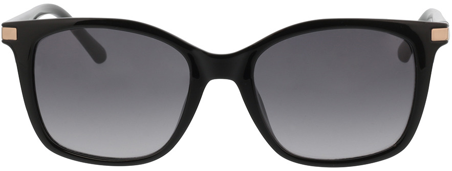 Picture of glasses model Calvin Klein CK19527S 001 54-19 in angle 0