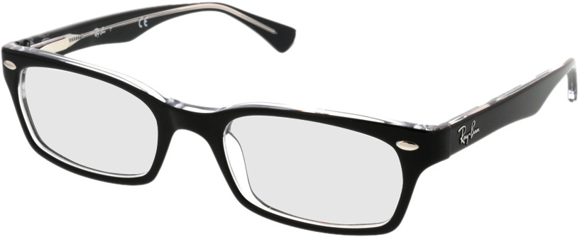 Picture of glasses model Ray-Ban RX5150 2034 50-19 in angle 330