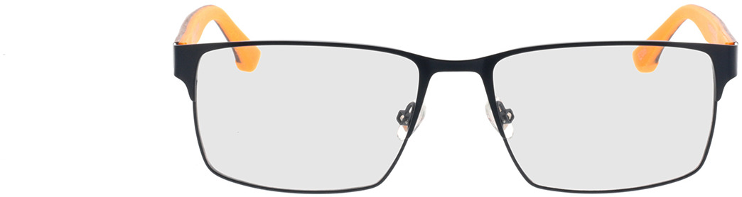 Picture of glasses model Superdry SDO Osamu 006 matte blue/wood/yellow 56-17 in angle 0