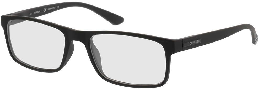 Picture of glasses model Calvin Klein CK19569 001 55-18 in angle 330