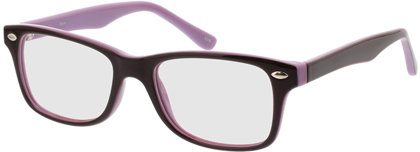 Picture of glasses model Revo lila/flieder in angle 330