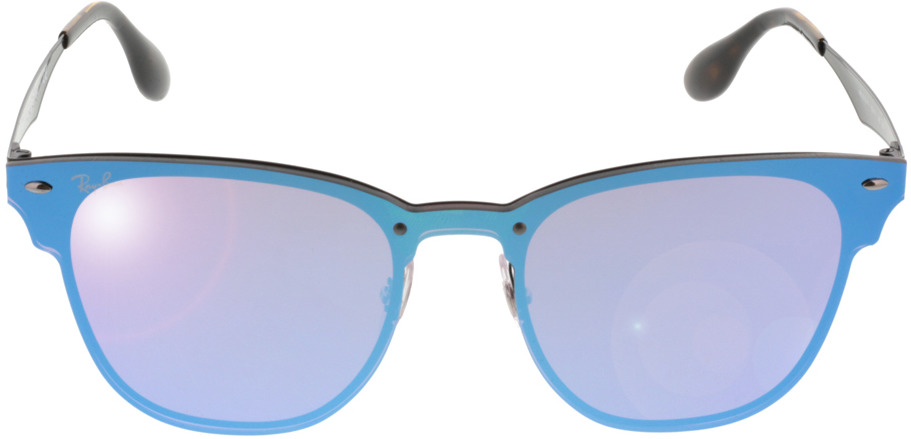 Picture of glasses model Ray-Ban Blaze Clubmaster RB3576N 153/7V 47-22 in angle 0