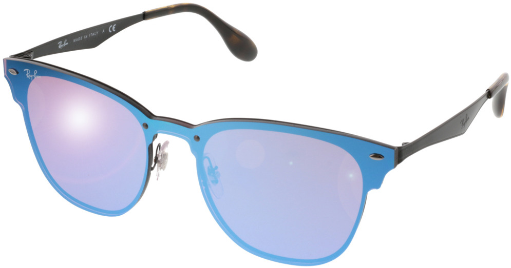 Picture of glasses model Ray-Ban Blaze Clubmaster RB3576N 153/7V 47-22 in angle 330
