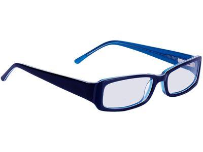 Brille Avellino-dunkelblau/hellblau