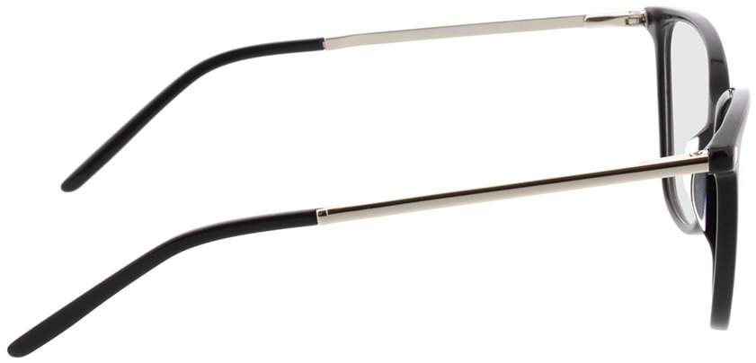 Picture of glasses model Peoria-schwarz/silber in angle 90