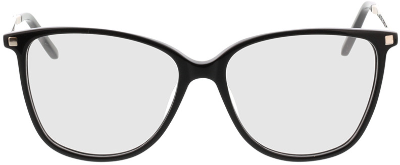 Picture of glasses model Peoria-schwarz/silber in angle 0