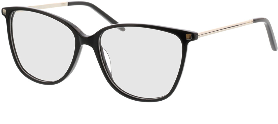 Picture of glasses model Peoria-schwarz/silber in angle 330